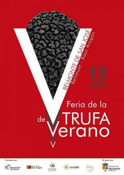 V Feria de la trufa de verano. Belmonte de San José @ Belmonte de San José | Aragón | España