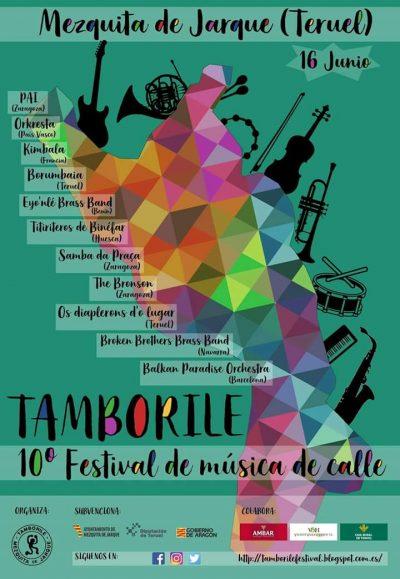 10ª Festival de Música de calle Tamborile. Mezquita de Jarque @ Mezquita de Jarque | Aragón | España