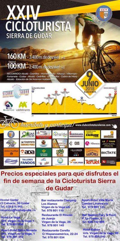 XXIV Marcha cicloturista Sierra de Gúdar @ Alcalá de la Selva | Aragón | España