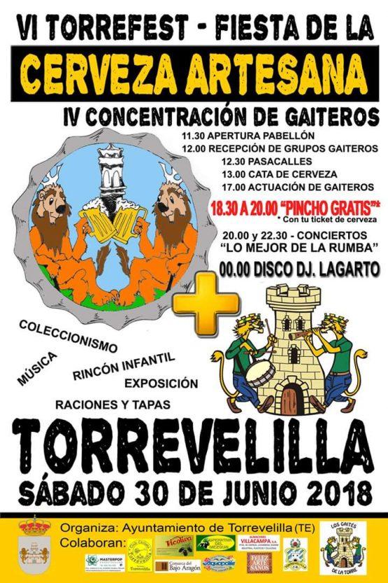 fiesta cerveza torrevelilla 2018
