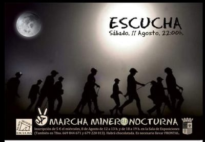 Marcha Minero Nocturna de Escucha @ Escucha | Aragón | España