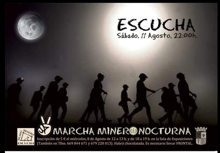 marcha minero nocturna escucha 2018