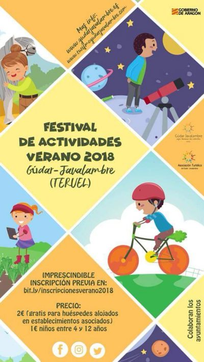 Festival de actividades verano 2018 Gúdar-Javalambre @ Aragón   España
