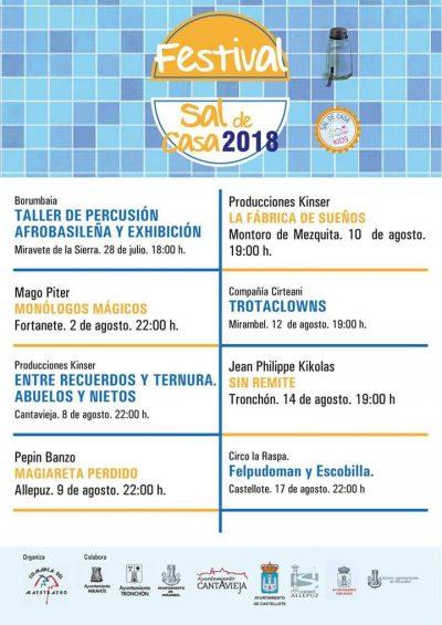 Festival Sal de casa 2018. Maestrazgo @ Aragón   España