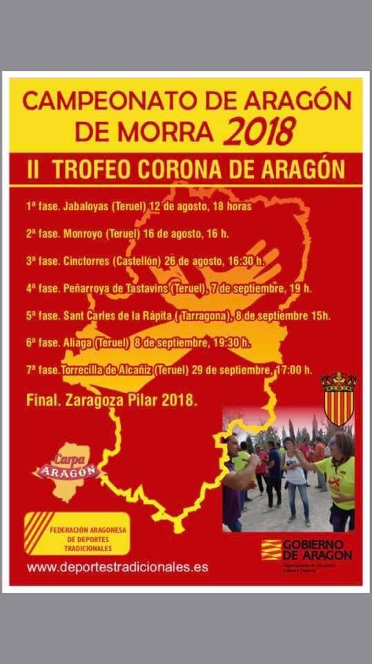 campeonato aragon morra 2018