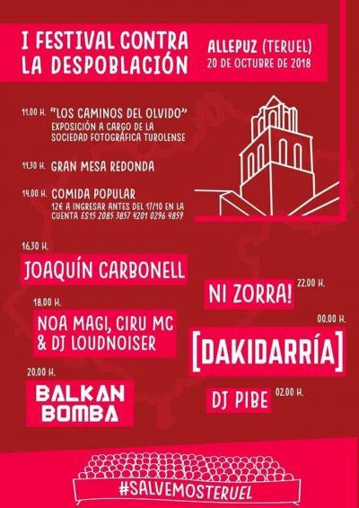 I Festival contra la Despoblación. Allepuz @ Allepuz | Aragón | España