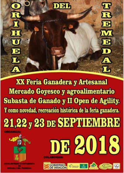XX Feria Ganadera y Artesanal de Orihuela del Tremedal @ Orihuela del Tremedal   Aragón   España