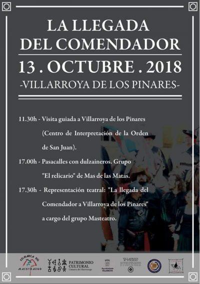 La llegada del Comendador. Villarroya de los Pinares @ Villarroya de los Pinares | Aragón | España