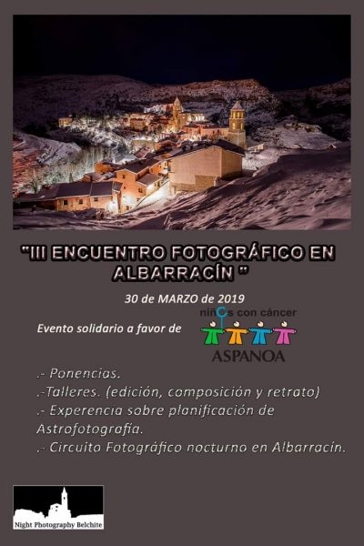 III Encuentro Fotográfico en Albarracín @ Albarracín | Aragón | España