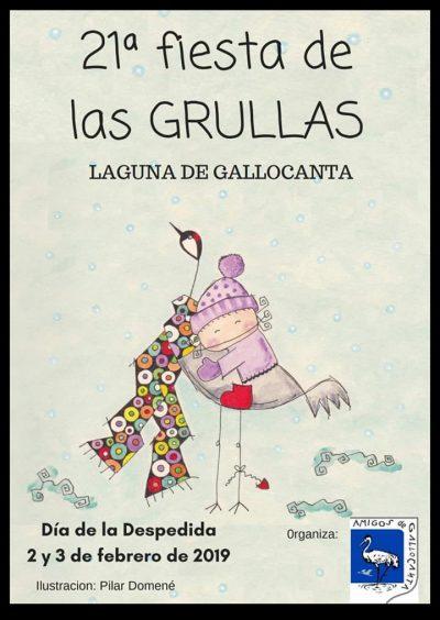 21ª Fiesta de las Grullas (Día de la Despedida) @ Aragón   España