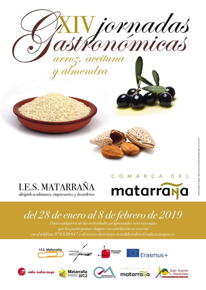 jornadas gastronomicas ies matarraña 2019