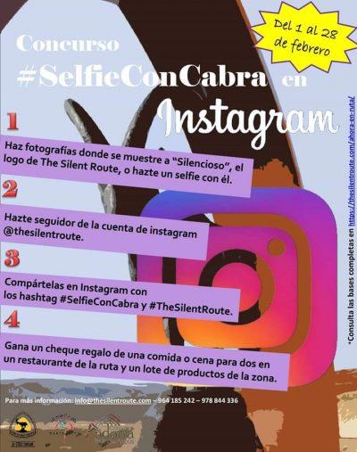 Concurso #SelfieConCabra en Instagram @ Albarracín | Aragón | España