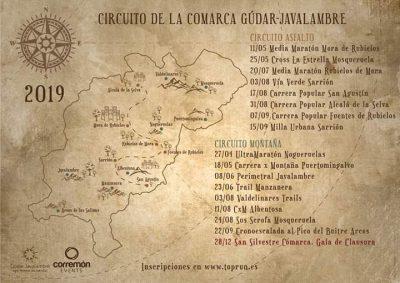 Circuito de Carreras de la Comarca Gúdar-Javalambre @ Aragón | España