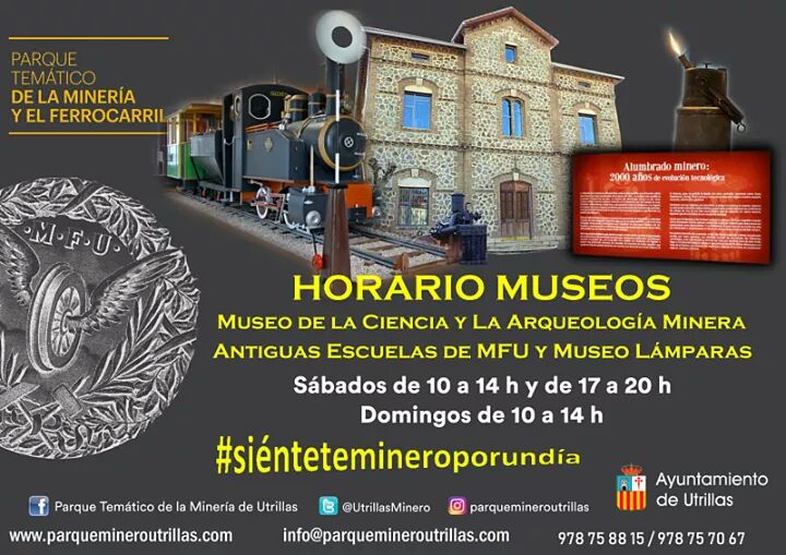 horarios museos utrillas