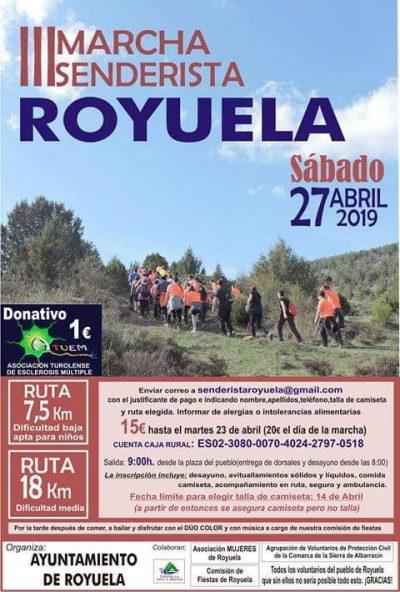 III Marcha senderista Royuela @ Royuela | Aragón | España