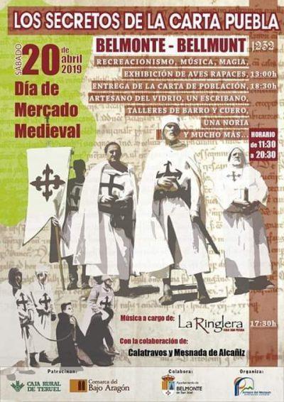 Los Secretos de la Carta Puebla. Belmonte de San José @ Belmonte de San José   Aragón   España