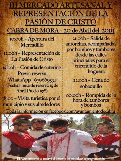 III Mercado artesanal y Representación de la Pasión de Cristo. Cabra de Mora @ Cabra de Mora   Aragón   España