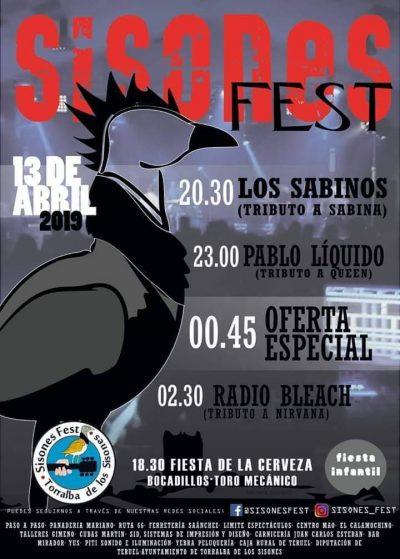 Sisones Fest 2019 @ Torralba de los Sisones   Aragón   España