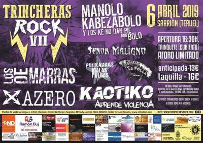 VII Trincheras Rock en Sarrión @ Sarrión   Aragón   España