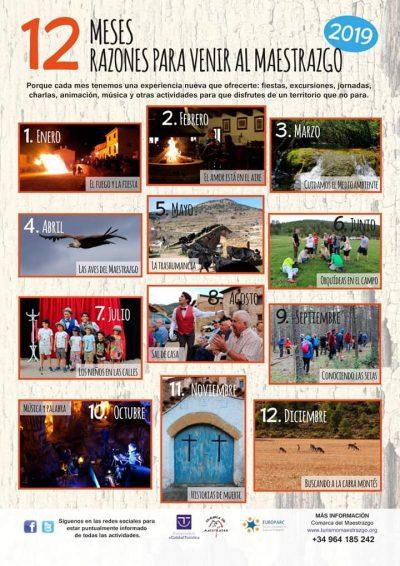 12 meses, 12 razones para venir al Maestrazgo @ Aragón | España