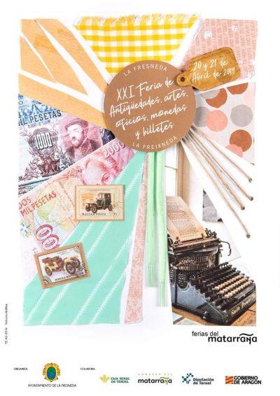 XXI Feria de Antigüedades, artes y oficios de La Fresneda @ La Fresneda   Aragón   España