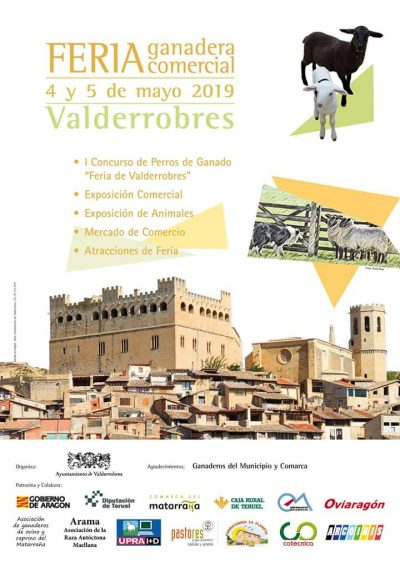 Feria Ganadera y Comercial de Valderrobres @ Valderrobres | Aragón | España