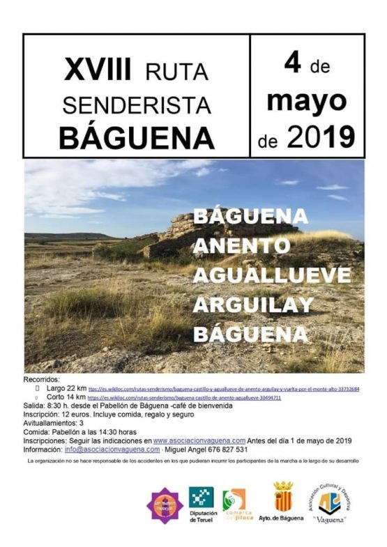 marcha senderista baguena 2019