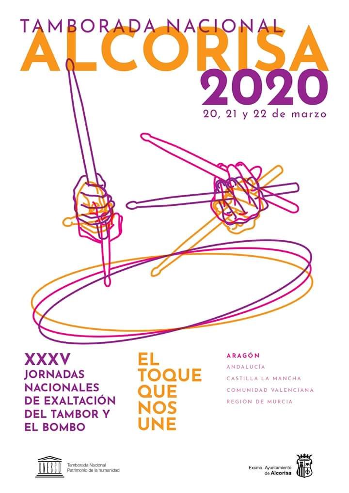tamborada nacional alcorisa 2020