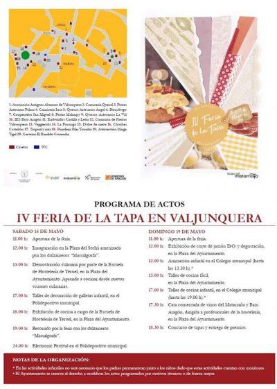 IV Feria de la Tapa. Valjunquera @ Valjunquera | Aragón | España