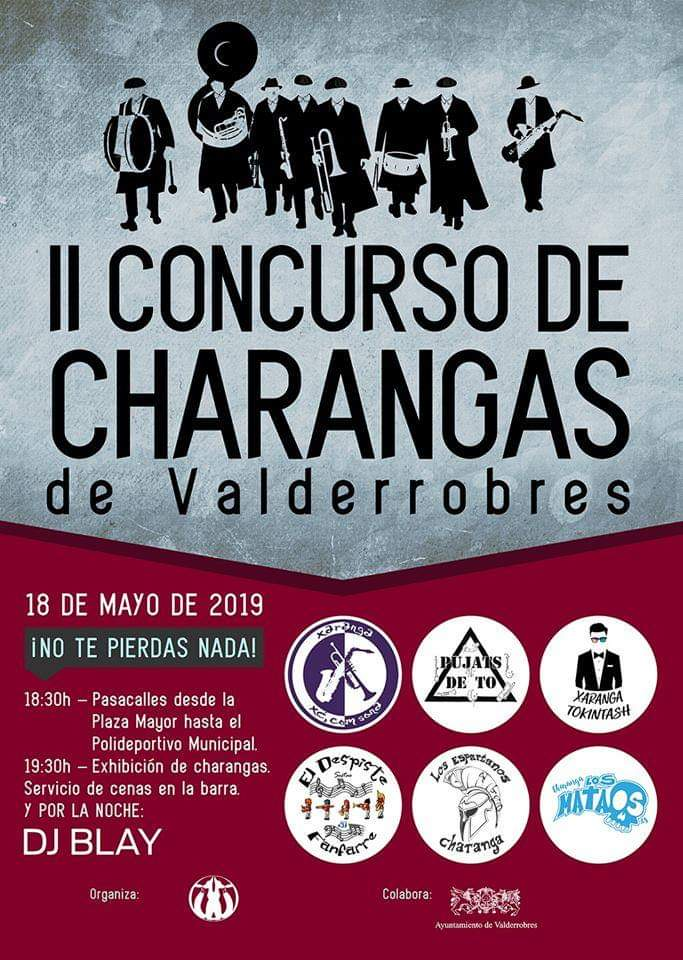 concurso charangas valderrobres 2019