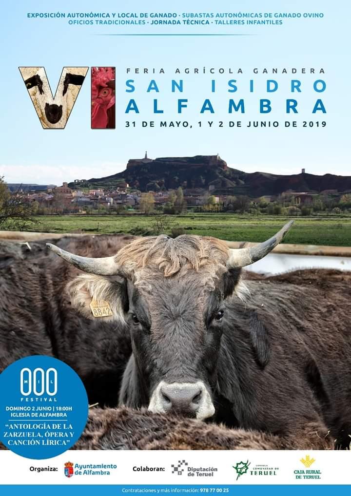 feria san isidro alfambra 2019