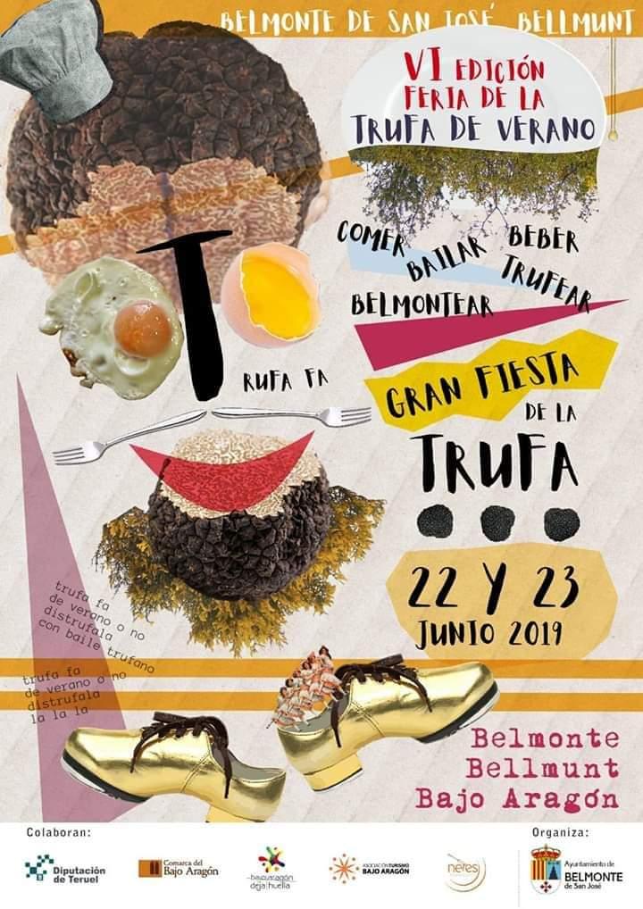 feria trufa verano belmonte de san jose 2019