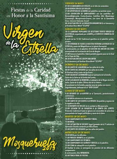 Fiestas de la Virgen de La Estrella, en Mosqueruela @ Mosqueruela | Aragón | España