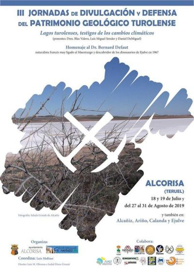 III Jornadas de Divulgación y Defensa del Patrimonio Geológico Turolense. Alcorisa @ Alcañiz | Aragón | España