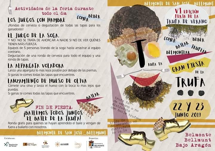 programa feria trufa verano belmonte 2019