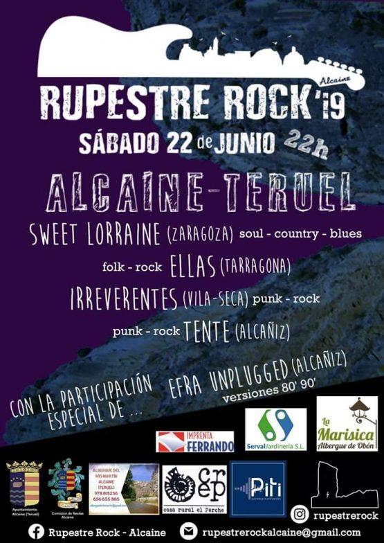 rupestre rock alcaine 2019