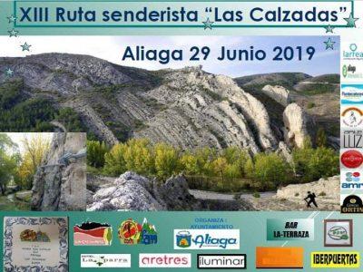 XIII Ruta senderista Las Calzadas. Aliaga @ Estercuel | Aragón | España