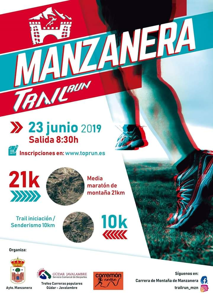 trail manzanera 2019