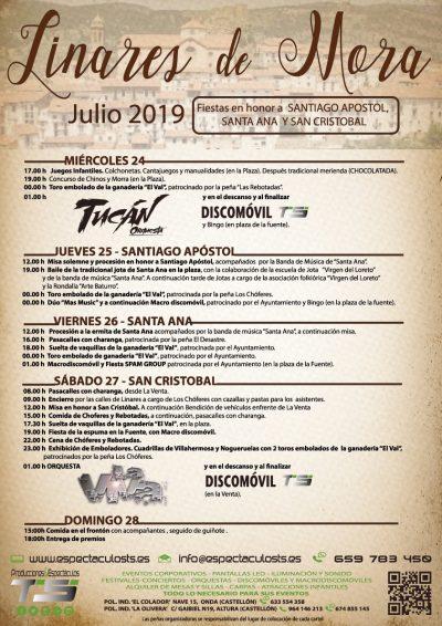 Fiestas patronales de Linares de Mora @ Linares de Mora | Aragón | España