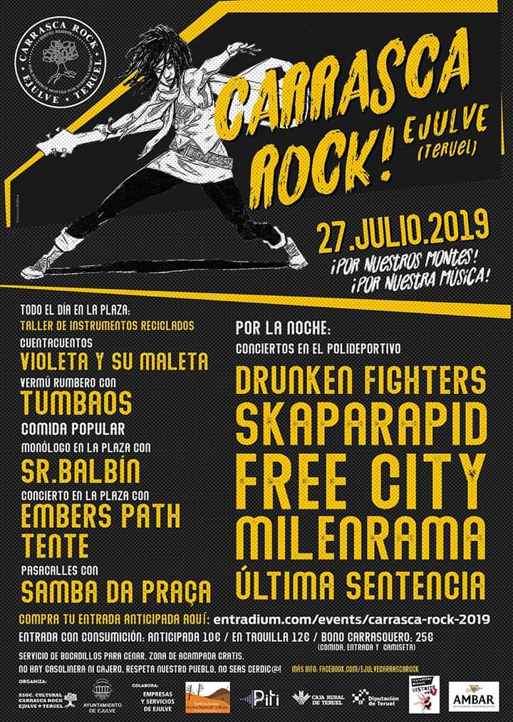 carrasca rock ejulve 2019