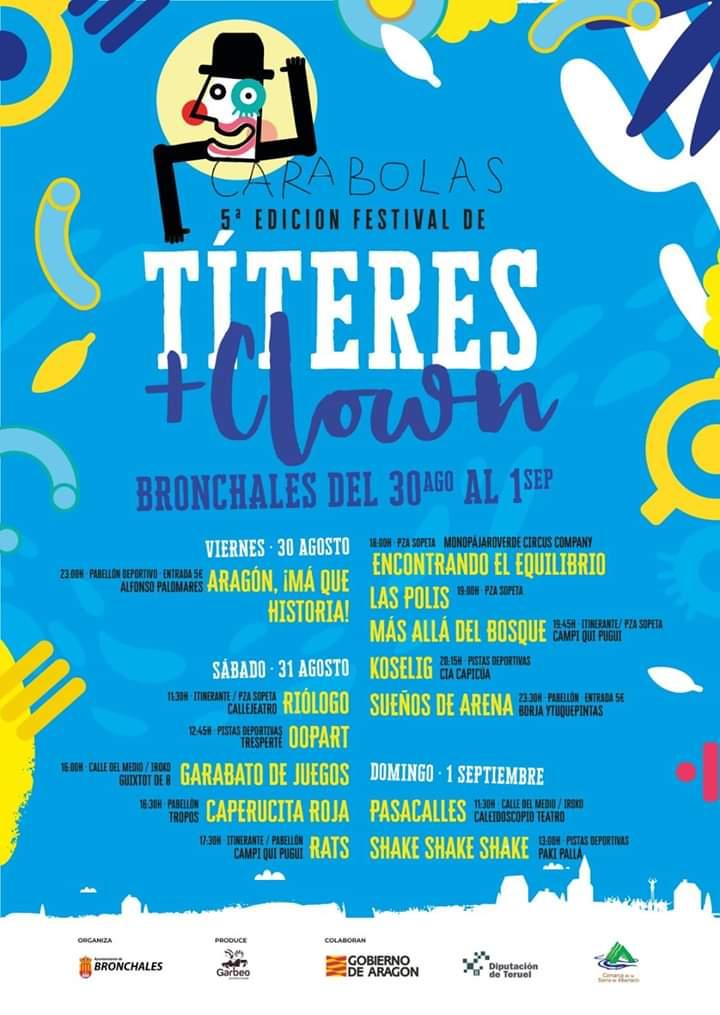 festival carabolas bronchales 2019