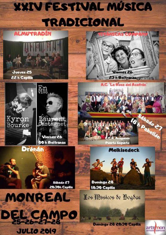 festival musica tradicional monreal del campo 2019