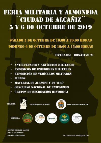 Feria Militaria y Almoneda Ciudad de Alcañiz @ Alcañiz   Aragón   España