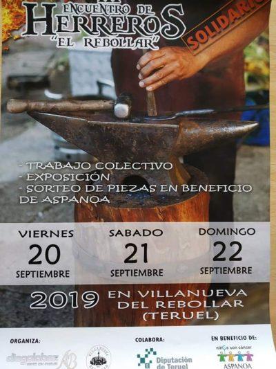 III Encuentro de Herreros El Rebollar @ Estercuel | Aragón | España
