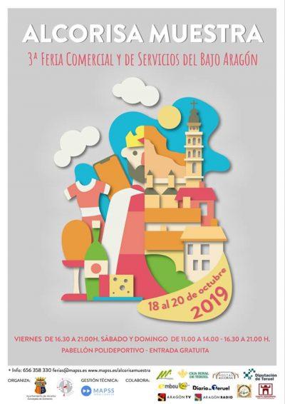 Alcorisa Muestra. 3ª Feria Comercial y de Servicios del Bajo Aragón @ Alcañiz | Aragón | España