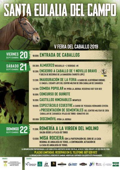 V Feria del Caballo de Santa Eulalia del Campo @ Aragón | España