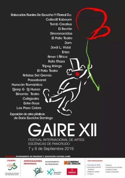 XII Festival Gaire de Pancrudo @ Pancrudo | Aragón | España
