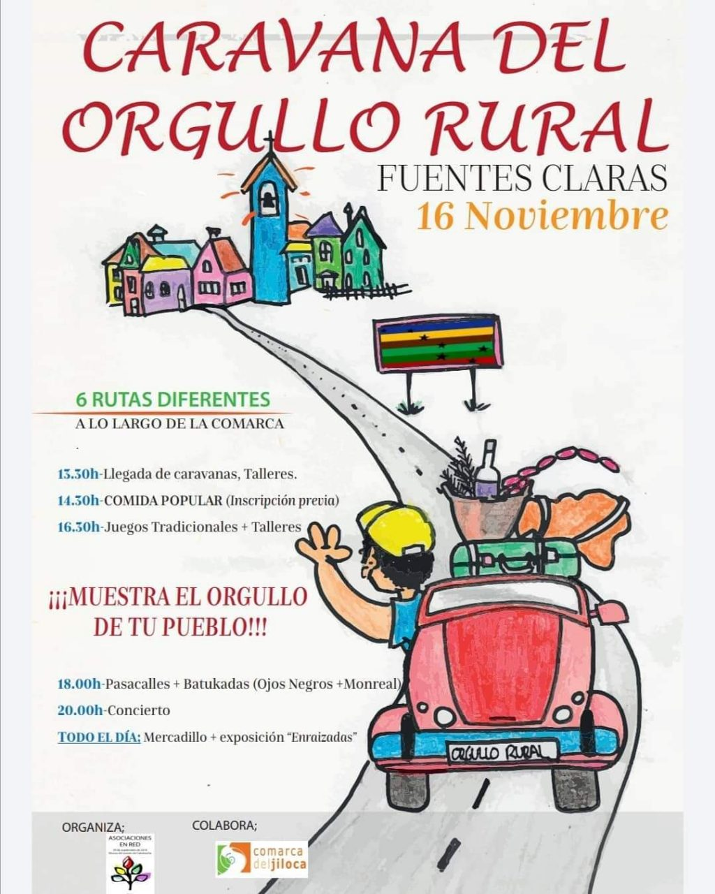 caravana orgullo rural fuentes claras 2019
