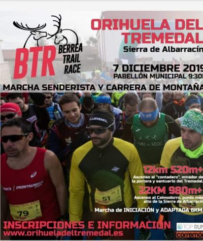 BTR - Berrea Trail Race @ Orihuela del Tremedal | Aragón | España