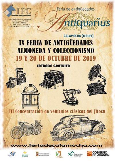 ANTIQUARIUS. Feria de antigüedades de Calamocha @ Calamocha | Aragón | España